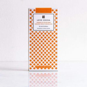 Love Cocoa Orange And Cocoa Nibs 80g